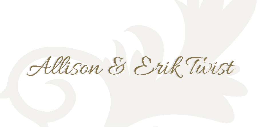 Allison and Erik Twist logo